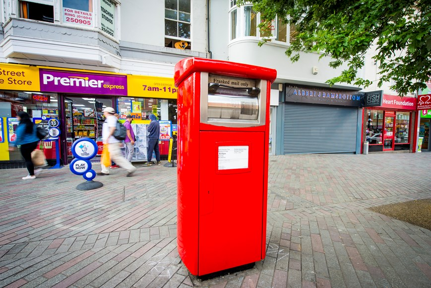 Supporting the continued growth of e-commerce: trialling the UK's first parcel postboxes