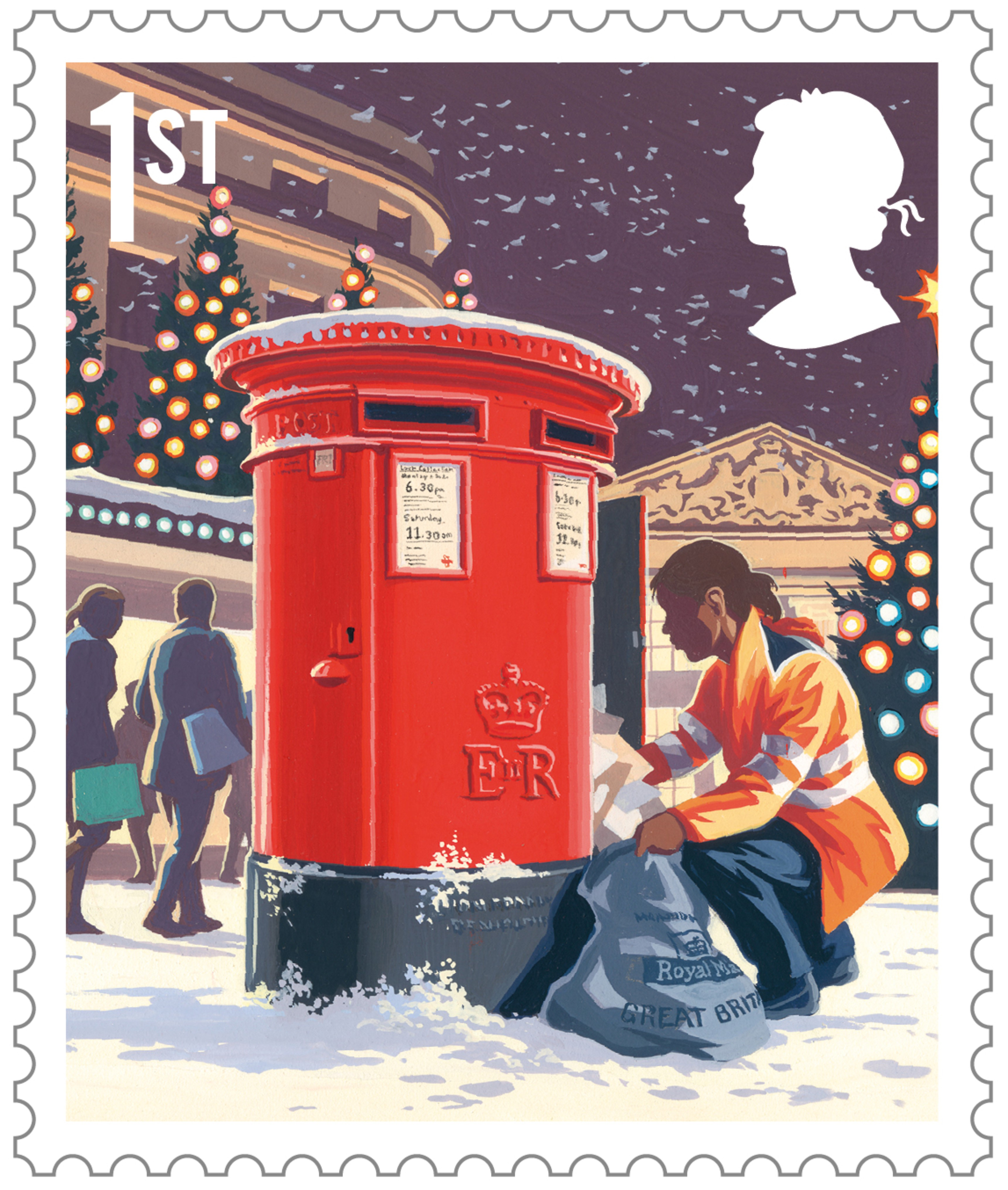 Royal Mail Reveals 2018 Christmas Special Stamps