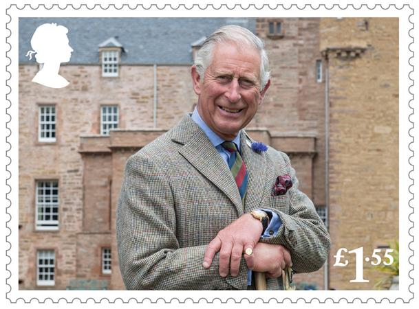 HRH The Prince of Wales at the Castle of Mey