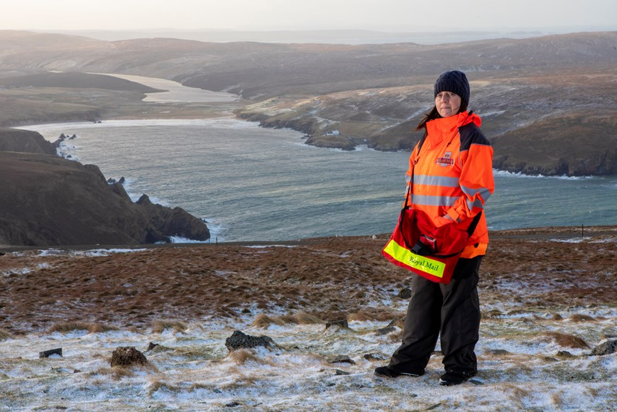 UK'S MOST REMOTE POSTAL ROUTE