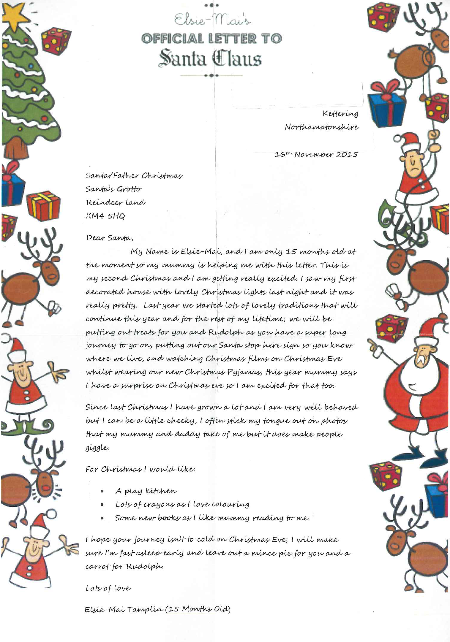 Dear Santa Claus...... Royal Mail helps to deliver Christmas wishes