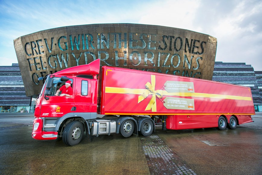 486ac894931165 Royal Mail is gearing up for Christmas with extra trucks